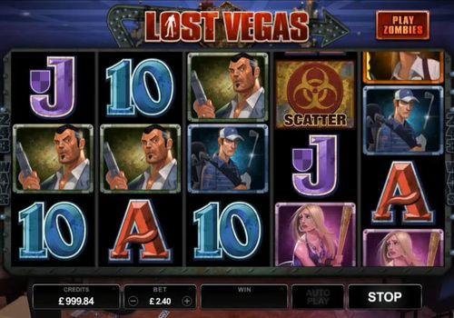 Символы автомата Lost Vegas