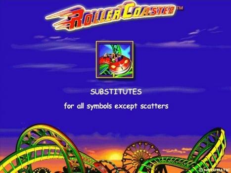 Дикий символ в игровом слоте Roller Coaster