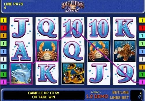 Игровые автоматы на деньги с выводом на карту - Dolphin's Pearl