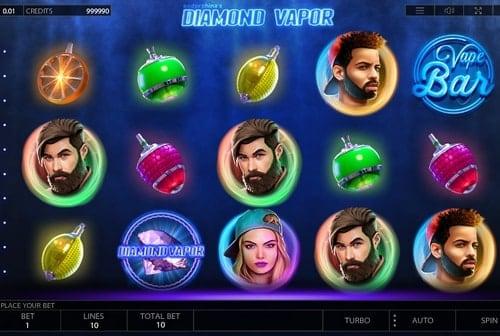 Игровые автоматы на реальные деньги с выводом на карту - Diamond Vapor