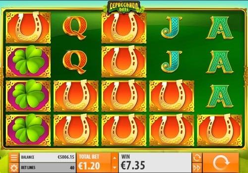 Игровые автоматы на деньги с выводом на карту - Leprechaun Hills