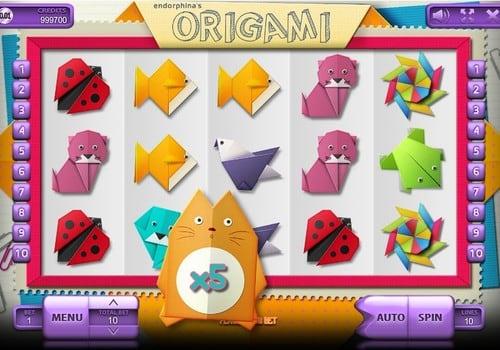 Игровые автоматы на реальные деньги с выводом на карту - Origami