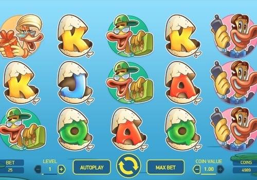 Игровые автоматы на реальные деньги с выводом на карту - Scruffy Duck