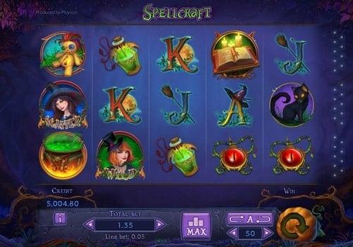 Игровые автоматы на реальные деньги с выводом средств на карту - Spellcraft