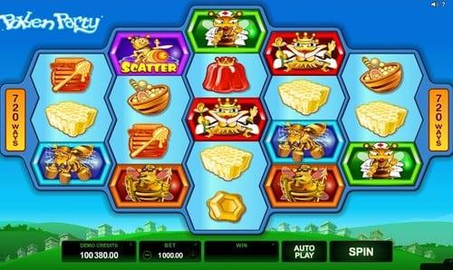 Игровые автоматы с выводом денег на карту - Pollen Party