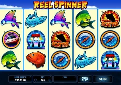 Игровые автоматы с выводом денег на карту - Reel Spinner