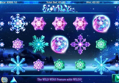 Игровые автоматы с выводом денег на карту - Snowflakes