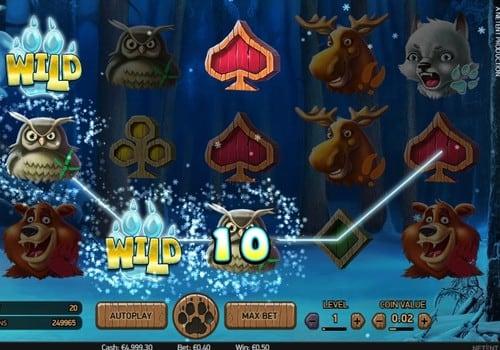 Игровые автоматы с выводом денег на карту – Wolf Cub
