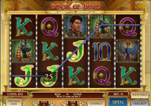 Игровые автоматы с моментальным выводом Book of Dead