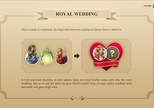 Бонусный раунд в онлайн слоте Castle Builder