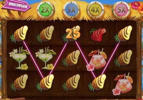 Выигрышная комбинация на линии в слоте Fruit Spin